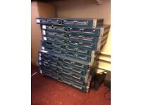 Cisco 1760 (1700 Series) Routers x11 + WIC-1ENET Cards
