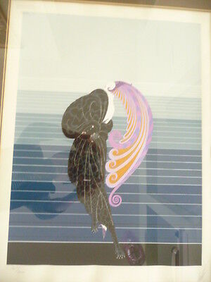 Erte, Beauty and the Beast serigraph, # 127/300.