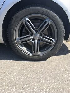 Audi Rims w Snow Tires