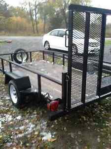 5'x10' utility trailer