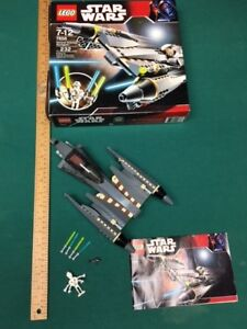 STAR WARS GENERAL GRIEVOUS STARFIGHTER LEGO 7656