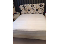 SUPER KING SIZE MATTRESS - NEARLY NEW