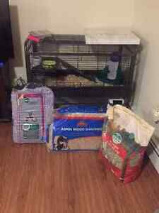Bunny cage and starter kit