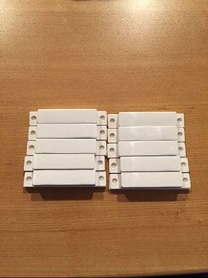 10 Alarm Security System Door Window Vent Magnets Magnet 2 Gig Adt Ademco 2Gig