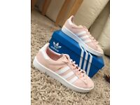 Adidas Campus icey Pink trainers . Size 6 .