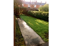 Fully furnished 2/3 Bedroom house with front & back garden for rent off Tates Ave near Lisburn Road