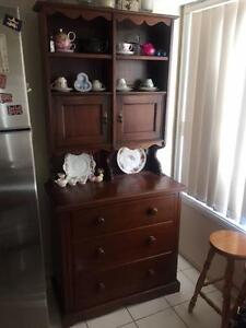 Antique Hutch / Buffet. Solid wood. Brisbane City Brisbane North West Preview