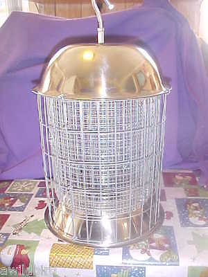 ORIGINAL RACCOON PROOF DOUBLE ARMOR SS STEEL WILD BIRD FEEDER ON EBAY SINCE 1992