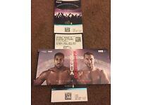 2x Joshua v Klitschko tickets