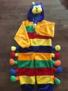 Caterpillar Fleece Halloween Costume size T5 / T6