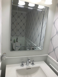 Complete Package - Bathroom Reno! Sink, Mirror, Light & more