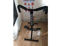 Total Crunch Revolution Folding Multi Gym Fitness Machine