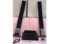 LG 5.1 speaker surround sound system - BLACK
