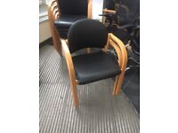 office furniture vinyl meeting /visitor chairs