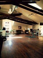Commercial Loft Space in Leslieville