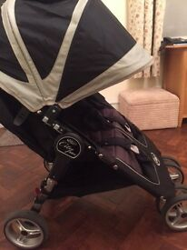 Double City Mini Baby Jogger for sale. Immaculate condition. Wonderful pushchair.