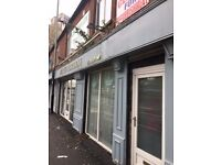 Double fronted Retail Shop for Rent near Stockport Town Centre Very Popular Area