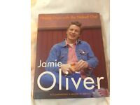 SIGNED Jamie Oliver Naked Chef cookbook - great Xmas gift!