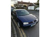 VW GOLF 4 IV 1.6 16V, 2003,NEW CLUTCH, LONG MOT,