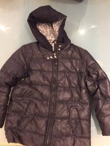Armani Junior Black Winter Jacket - Youth