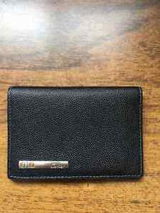 Cartier Credit Card Wallet - Santos de Cartier - Black