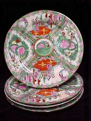 Plates Chinese Rose Medallion Plates