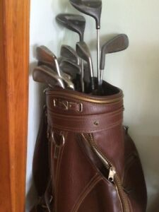 Golf Clubs, Bag