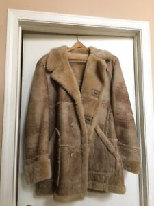 MEN'S SHEARLING SHEEPSKIN COAT
