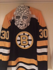 NHL Hockey Goalie MASK BOSTON BRUINS GERRY CHEEVERS MASQUE