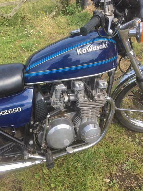 Kawasaki KZ650 * * * Awaiting Preparation * * * | in Holt, Norfolk | Gumtree