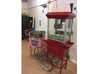 Bouncy Castle hire, popcorn, candy floss, sweet cart, hotdogs, chocolate fountain hire, fruit tree