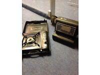 Hi Gear camping stove and mini heater