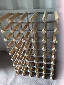 Wine rack to hold 40 bottles