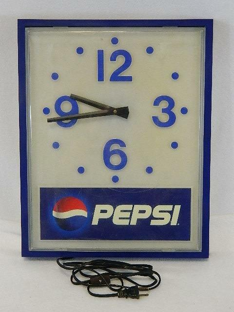Pepsi Wall Clock Vintage - Impact International Inc. VERY HARD TO FIND #11616