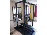 Watson Commercial Squat / Power Rack & Flat Bench