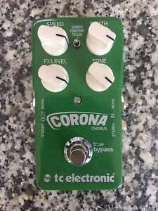 BRAND NEW TC Electronic Corona Chorus Guitar Pedal East Maitland Maitland Area Preview