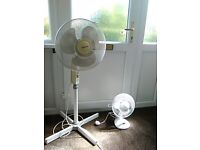 fans electric, upright and desk