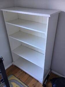 White Ikea Shelves Seaforth Manly Area Preview