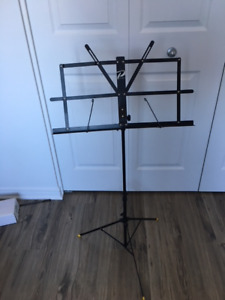 Portable lightweight music stand (lectern)
