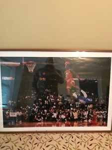Michael Jordan Posted and IKEA Frame $10