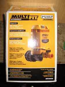 MultiFit shop vac pump