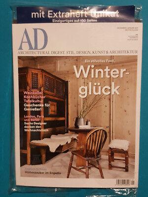 AD  Dez/Jan 2017 Architectural Digist Stil Design Kunst&Architektur ungel. 1A