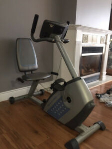 WESLO digital exercise bike