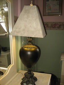 NEW DECORATOR TRI LIGHT LAMP FROM HOMESENSE, MINT COND