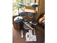 Roland TD-4KP V-drums Electronic Drum Kit - HARDLY USED - FREE Kick Pedal, Bongo Drums & Drumsticks