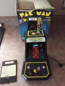 1981 Mini Pac-Man Coleco Tabletop Midway Electronic Video Game W