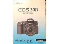 Canon EOS 30D Instruction Manual