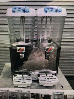 New Double Flavor Commercial Juice Dispenser Refrigerated Cold Fountain 8810