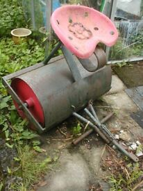 vintage ride on garden roller ideal garden feature
