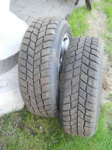 "2 - Hankook ""As New"" i-Pike RC01 Tires"